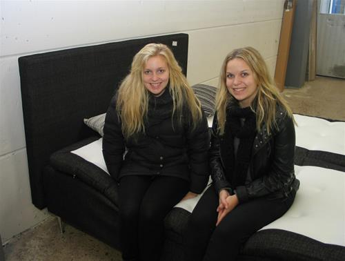 Amanda och Julia Koponen