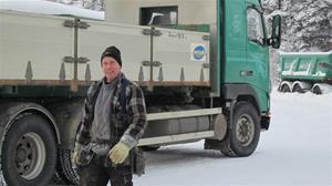Gunnar i Burträsk och -26°