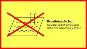 bevattningsforbud