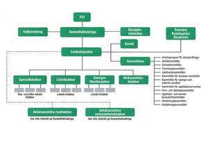 Organissations schema SKK
