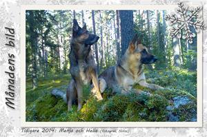 Månadens bild - tidigare - Menja & Hella