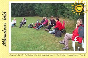 Månadens bild - Augusti 2016 - Åskådare vid träningsdag med Frida Wallén.