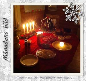 Månadens bild - December 2015 - Jul i Skoga