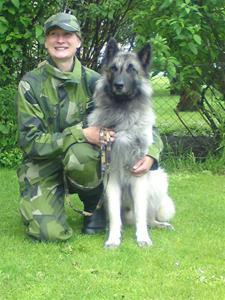 Pajas o jag fixat certprov tjänstehund bevakning 110619