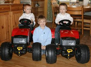 Här är tre traktor fantaster