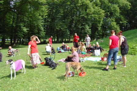 Träff med NNL på hundöarna 4 juli 2009