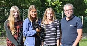 Familjen Blomstedt med Luna 20160805