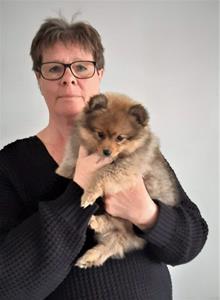 Ulla har hämtat Millie 20210520