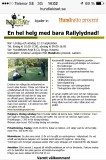 Rallyhelg