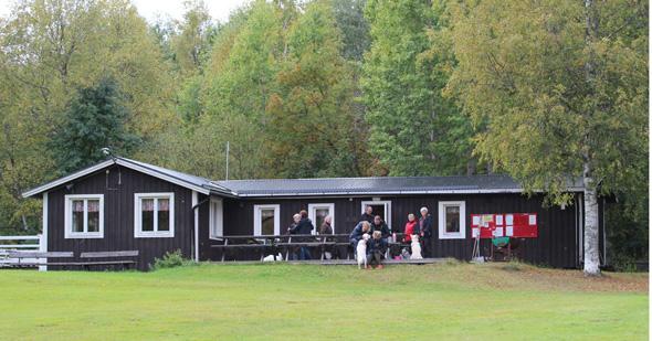 Klubbstugan vid Norra Nyhamn