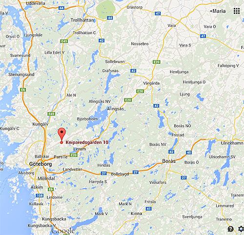 karta översikt