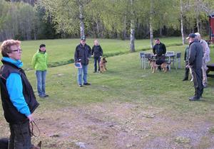Träningstävling i Nora 15 maj 2014