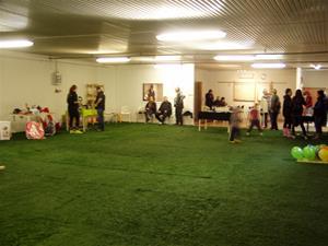 Invigning av inomhushallen i Hallsberg