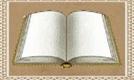 gästbok med bakgrund