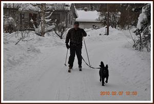 2010-02-07 Dixy med husse på släp
