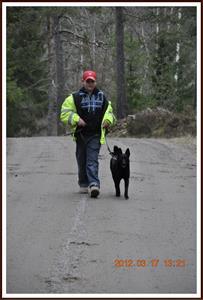 2012-03-17 Dixy lydnadsträning med lillhusse