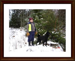 2008-02-03 I skogen med lillhusse Billy