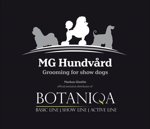 MG Hundvård Botaniqa logo