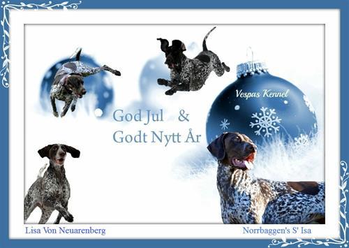 god jul Isa og Lisa 3