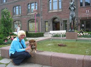 Sissel og Heiko ved Mor og Barn 24 aug 09