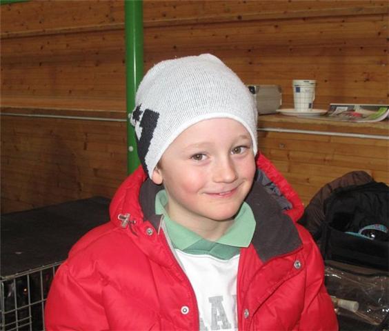 NKK Bø Telemark - eneste gutten som ville være med....