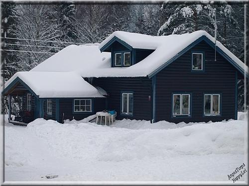 Ängestorps Gård Vinter