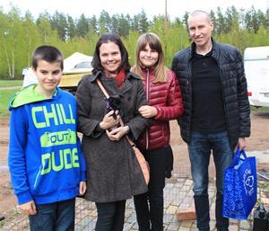 Bianca flyttar till familjen Kristoffersen