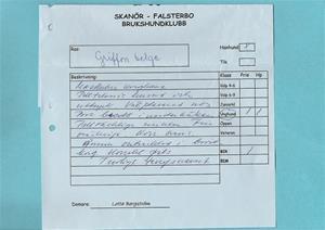 Skanör:Falsterbo BK 10.04.25 (inofficiell utställning)