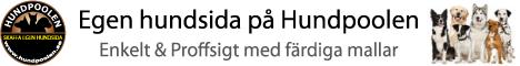Skapa gratis hemsida på Hundpoolen.se