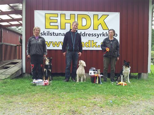 Klass III vinnarna och länsmästare 2012