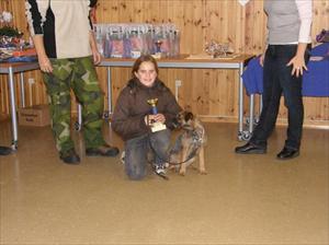 Nicolle yngsta deltagaren får pris