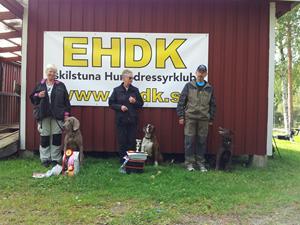Klass II vinnarna och Länsmästare 2012