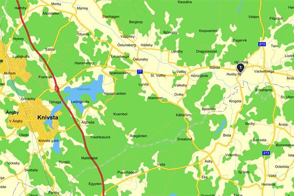 karta_knivstahundsportcenter
