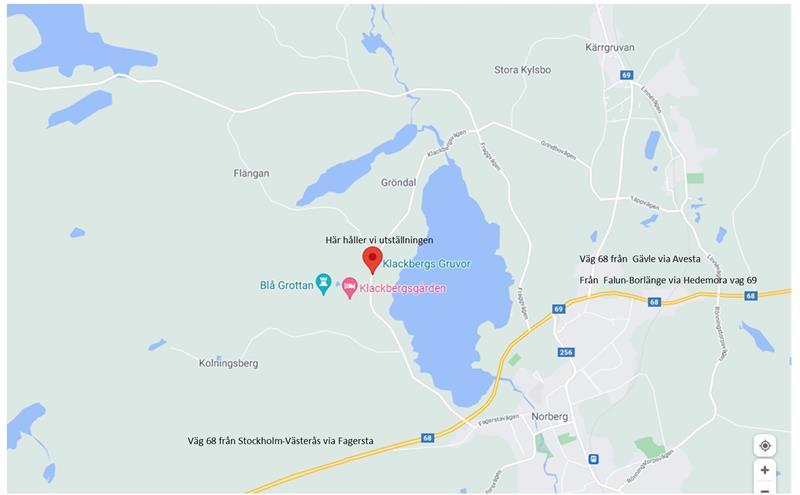 Karta Klackberg Norberg 21