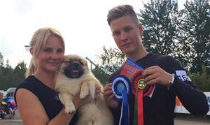 Så stolt av Zaxon som ble 2bhk med cert, og er derfor Finsk Champion 20.08.16