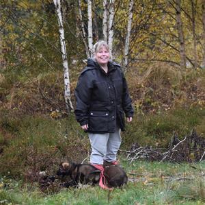 B-Kullen 6 veckor i skogen med kennelmamma Nettan