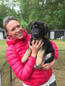 Rindrosens Abazz 8 veckor med sin nya matte Erika Norstedt