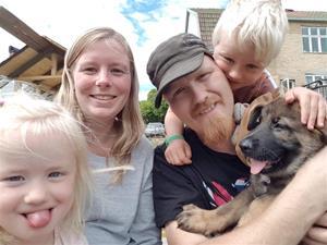 Rindrosens Access 8 veckor med sin nya flock Angelica & Samuel Hylén