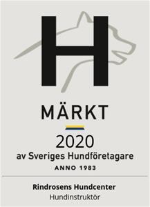 H märkt 2020 av Sveriges Hundföretagare