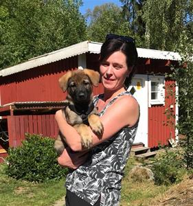 Rindrosens Actra 8 veckor med sin nya matte Sofia Sonesson
