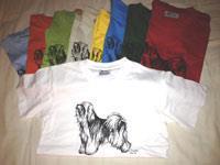 T-shirt med nytt tryck