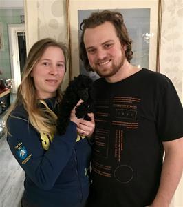 Mocca med Frida och Olof