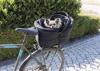 Cykelkorg med nättak för pakethållare