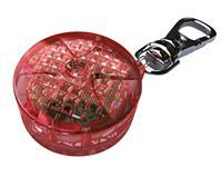 Blinklampa, röd