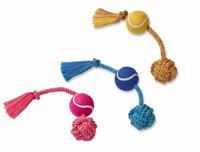 Rep med repboll och tennisboll