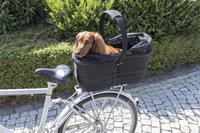 Cykelkorg med nättak för pakethållare. Max 8kg