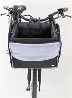 Cykelkorg tyg, grå/svart