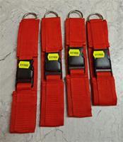 Spårhalsband i nylon, röd