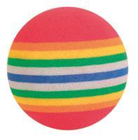 Regnbågsbollar 4-pack 3,5 cm