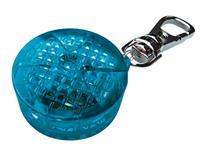 Blinklampa, blå